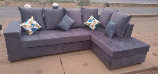 Sofa set made by hand wood and good quality material made image 5