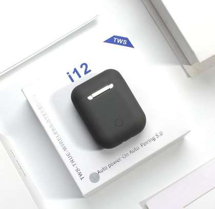 i12 TWS Airpods wireless Bluetooth Earphone Bluetooth 5.0 Earbuds sport Headset image 2