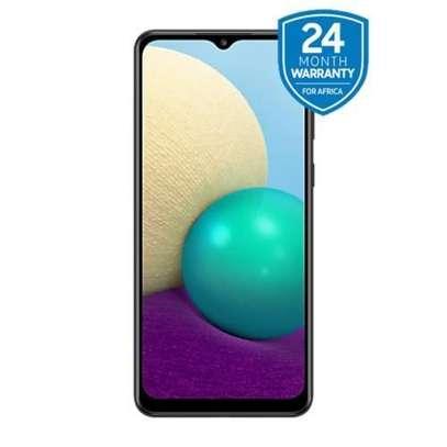 "Samsung Galaxy A02 - 6.5"" - 3GB ROM + 64GB RAM - Dual SIM - Black-Easter sale image 1"