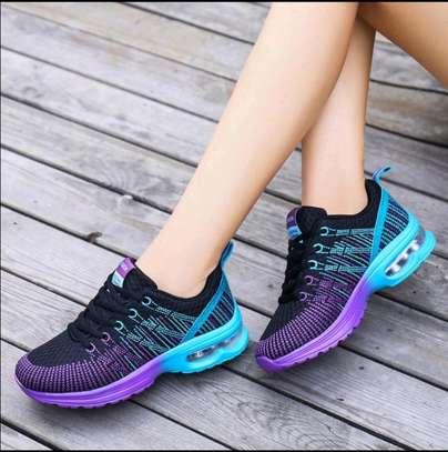 Ladies sporty sneakers image 1