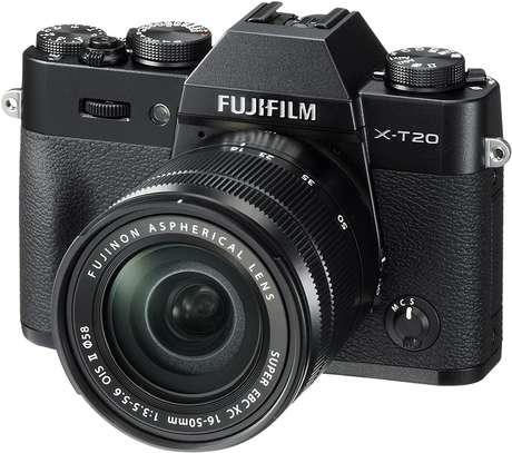 Fujifilm X-T20 Mirrorless Digital Camera w/XC16-50mmF3.5-5.6 OISII Lens-Black image 2
