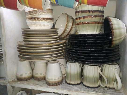 Ceramic dinner set/dinner set. image 1