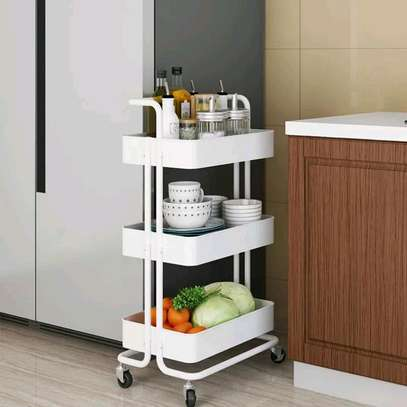 New trolley movable kitchen organizer image 1