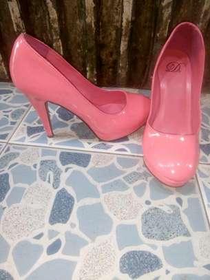 Hot Pink Double Sole Heel image 2