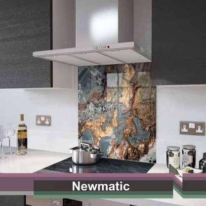 Newmatic Liquid Gold Glass Splashback image 1