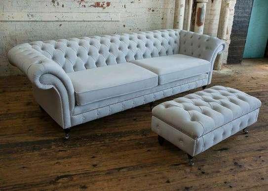 Latest Chesterfield sofas for sale in Nairobi Kenya/light blue three seater sofas for sale in Nairobi Kenya image 2