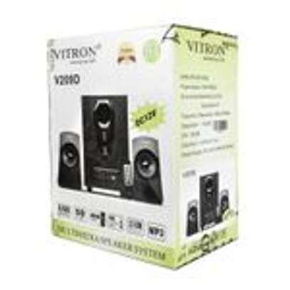 Vitron 2.1Ch Multimedia Speaker System AC/DC/BT – V209D image 3