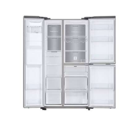 Samsung RS65R5691M9/UT Side By Side Fridge - Silver image 2