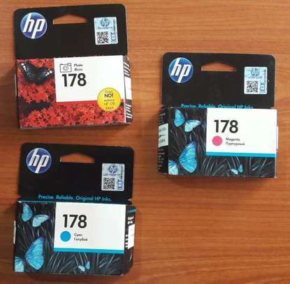 Genuine HP 178 Ink Cartridges (Black, Cyan, Yellow, Magenta, Photo black) image 2