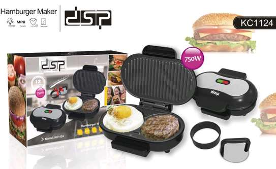 Dsp 2 in 1 burger maker image 2