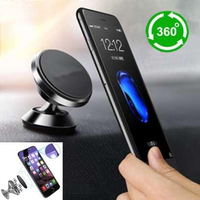Car dashboard Mount Magnetic Phone Holder image 2