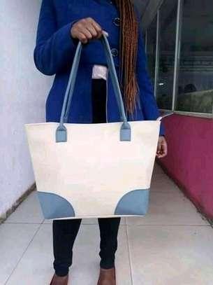 Ladies shoulder bag(white) image 1