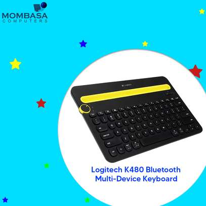 Logitech K480 Bluetooth Multi-Device Keyboard image 1