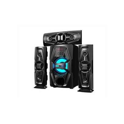 CLUBOX FL-6030 HI-FI Multimedia Speaker System - Black image 1