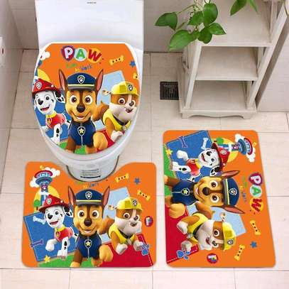 Cartoon themed bathroom mat sets image 5