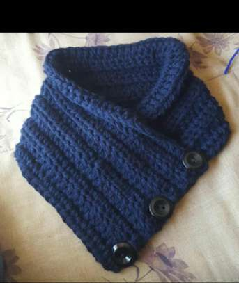 Stylish knitted women scarfs and Marvin image 5