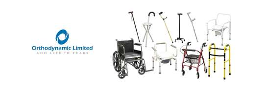 Standard commode wheelchair image 10