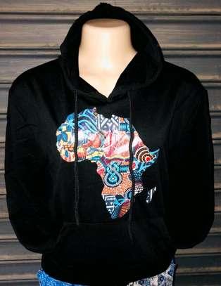 African print hoodies