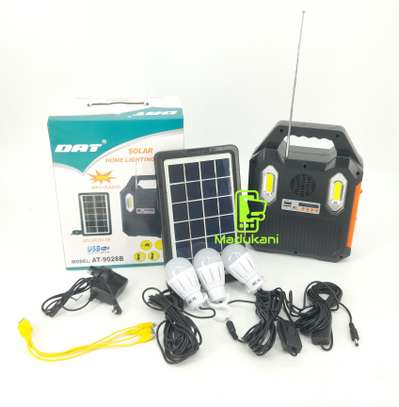 DAT AT9028B Solar Home Lighting System image 1