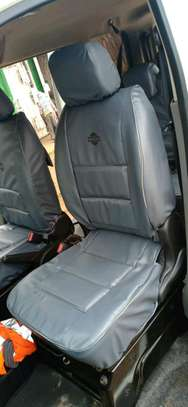 Color blend car seat covers