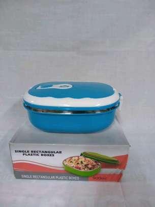 Single rectangular lunch box image 1