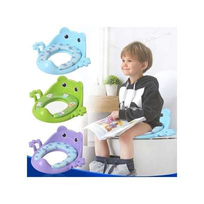 Thick Comfortable Toilet Guard Seat For Kids Toilet Training image 1