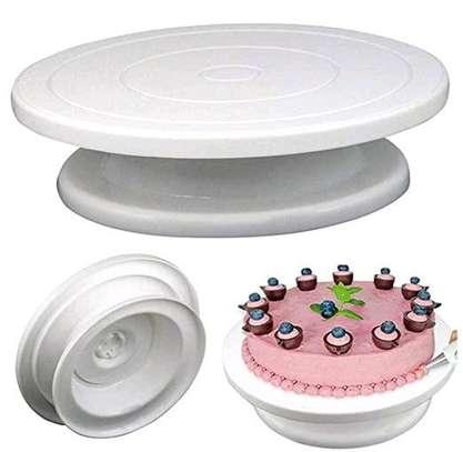 32cm Cake Turntable Round Stand image 1
