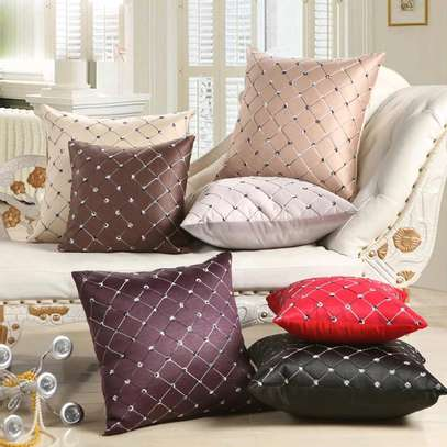 Colourful pillows image 2
