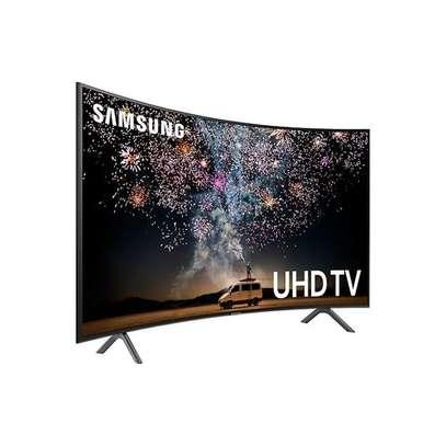 samsung 55'' Smart Crystal UHD 4K Curved TV - UA55TU8300 - Google Assistant-offer image 1
