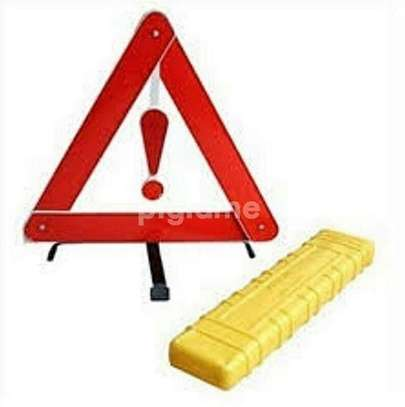 Hazard Warning triangle ..fordable image 1