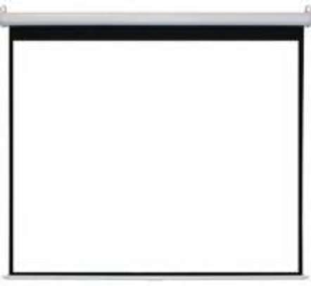 Projector Screen manual 150 by 150cm image 1