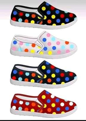 Fashion dotted rubber shoes all sizes image 1