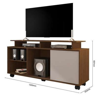 AVILA TV STAND RACK ( Colibri ) - TV Space up to 55 inches - TORONTO HIGH GLOSS image 2