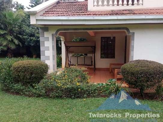 Furnished 3 bedroom house for rent in Karen image 6