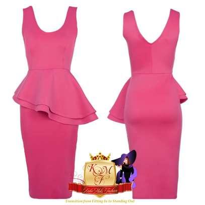 Sleeveless Peplum Dress image 2