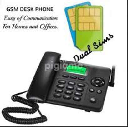 GSM Desk Phone - For Home, Office And Business Telephone image 1