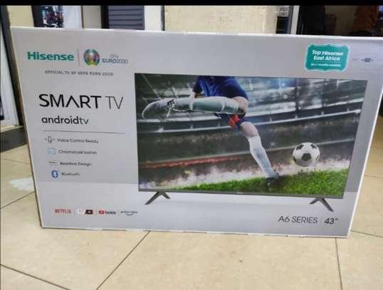 43 inch Hisense Smart  HD LED  android - 2 Years Guaranteed image 1