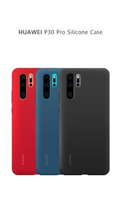 Silicone case with Soft Touch for Huawei P30 P30 Pro P30 Lite image 10