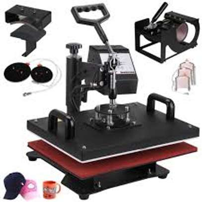 Heat Press Machine 8 in 1