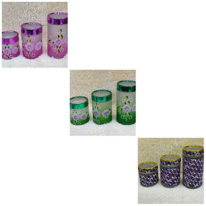 3 pcs Storage containers image 1