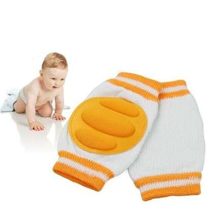 Infant Toddler Baby Knee Pad Crawling Safety Protector - Orange image 1