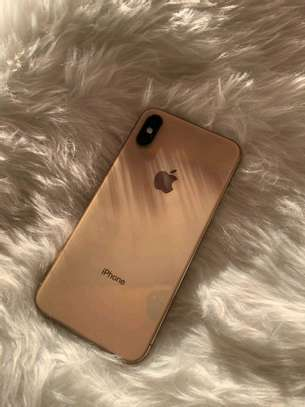 Apple Iphone xs 512 Gigabytes Gold And Olliclips Professionally Photography Lens image 4