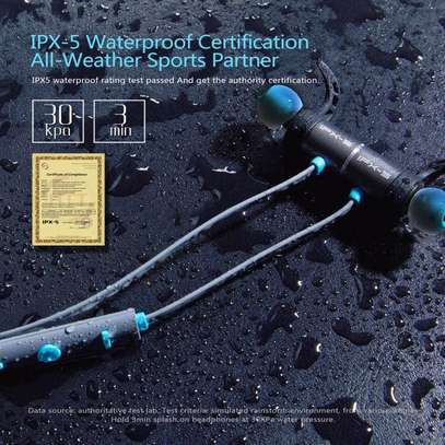 Plextone Wireless Headphone IPX5 Waterproof Dual Battery 8 Hours music time Bluetooth Sport Earphone for Running image 7