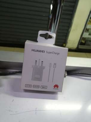 super huawei charger type c image 1