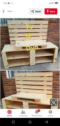 TV stand softwood