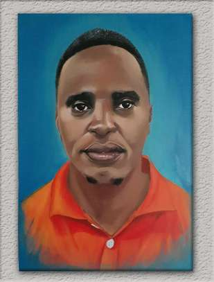 Perfect Portrait Paintings on Canvas Material image 6