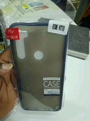 Redmi Note 8 Back Cover(My Choice cover) In shop image 2