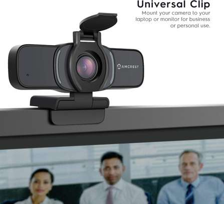 Amcrest 1080P Webcam with Microphone & Privacy Cover, Web Cam image 3