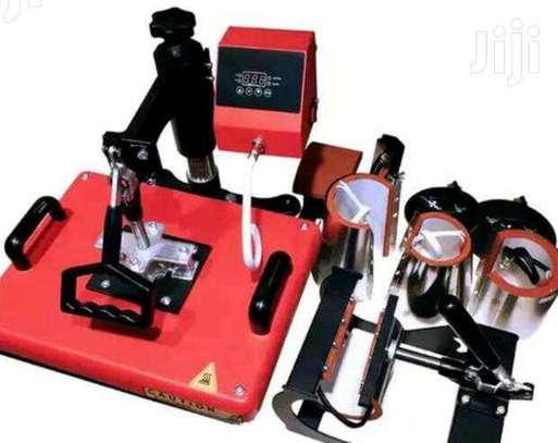 8 in 1 heat press machine. image 1