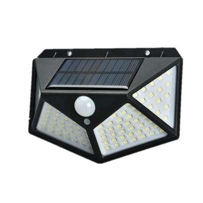 Generic 100 Led 1200 Mah Solar Lights Outdoor Solar Powered Motion image 1